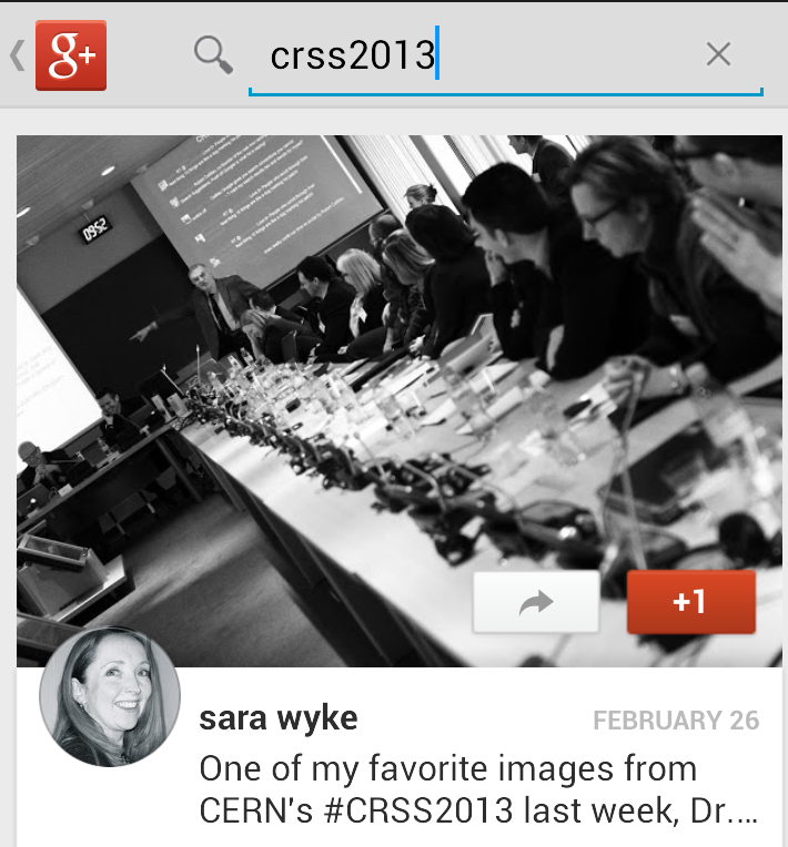 #CRSS2013 by Sara